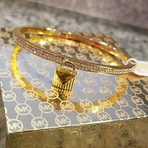 MK gold bracelet